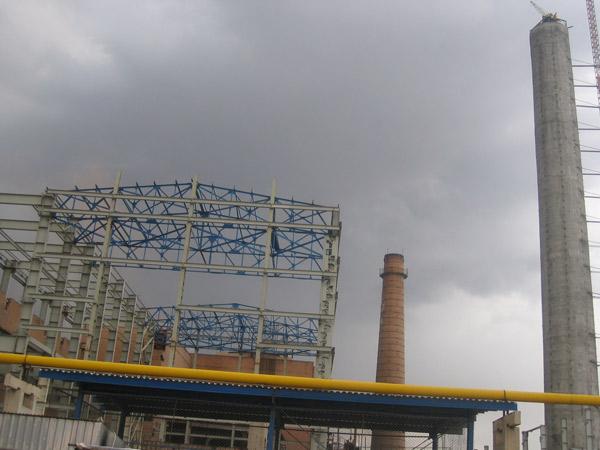 عمليات اجرائي تأسيسات جانبی طرح توازن ذوب آهن اصفهان