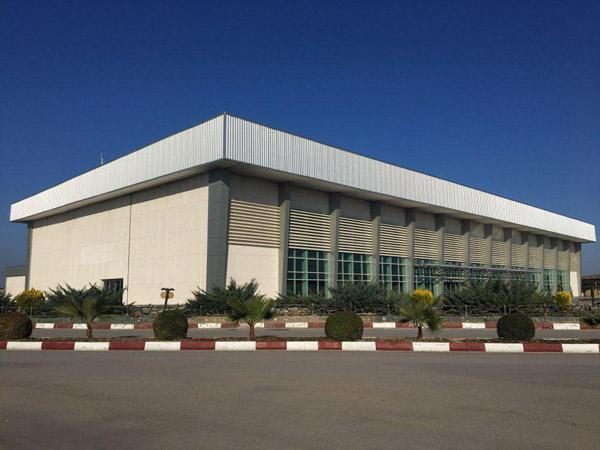 پروژه سالن مشایعین و مستقبلین فرودگاه دشت ناز ساری