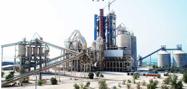 عملیات سیویل و اسکلت فلزی  کارخانه سیمان  6000 تنی کنگان