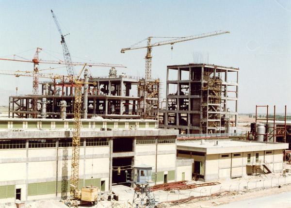 Civil Works & Steel Structures of D.M.T. PLANT