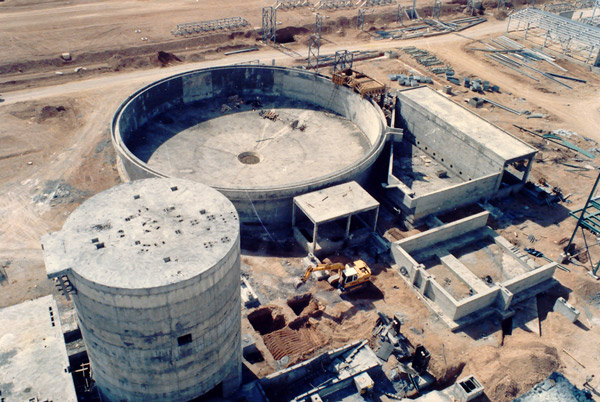 Civil Works & Steel Structures of PletIzing Plant Of Mobarakeh S