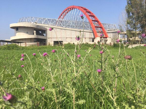Civil Works& Steel Structures Sari Sport Complex