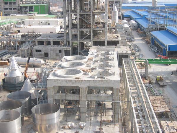 Civil Works & Steel Structures of  JAM POLY PROPYLENE PLANT