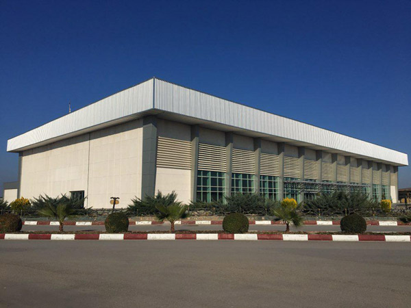 Civil Works& Steel Structures Sari Airport Terminal Project